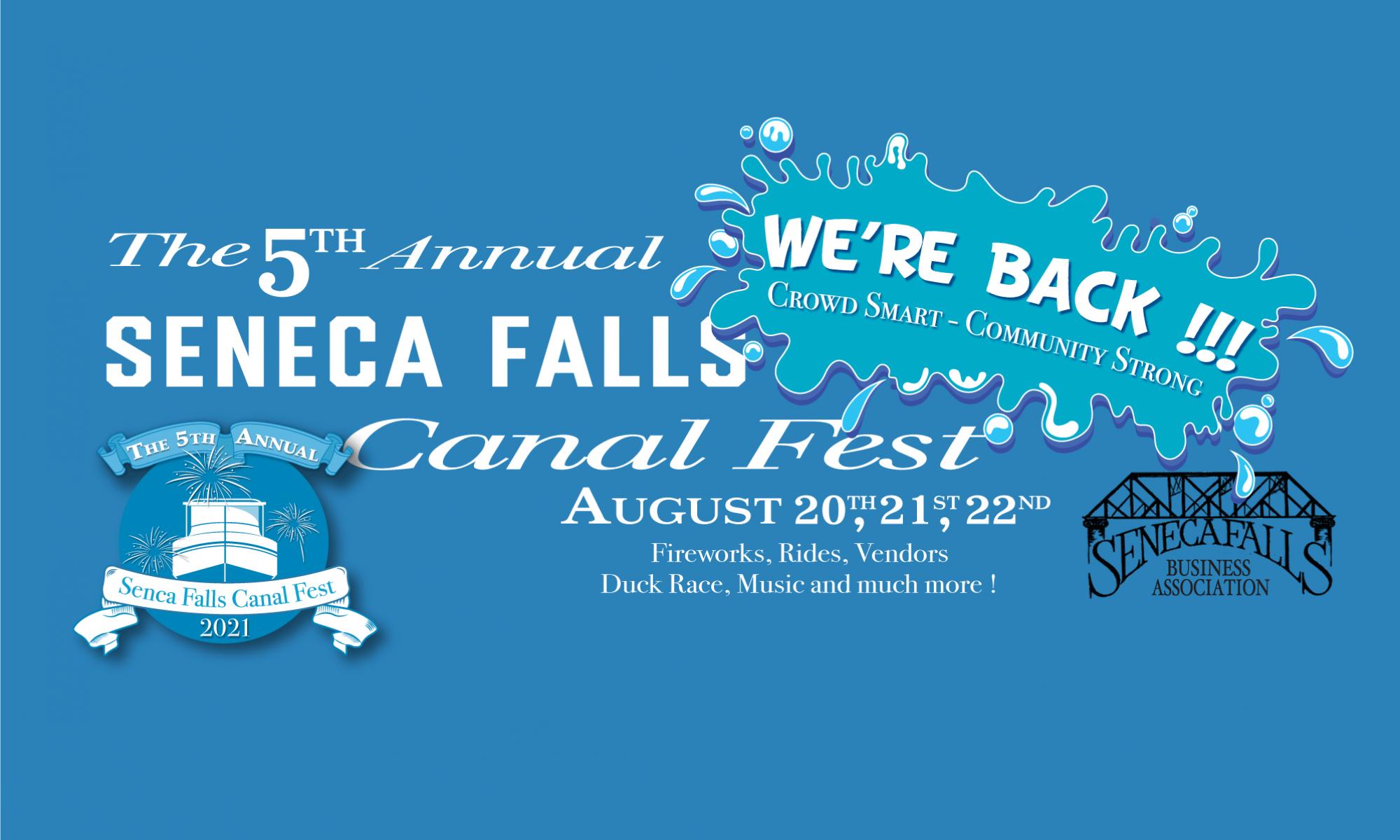 2021 Seneca Falls Canal Fest